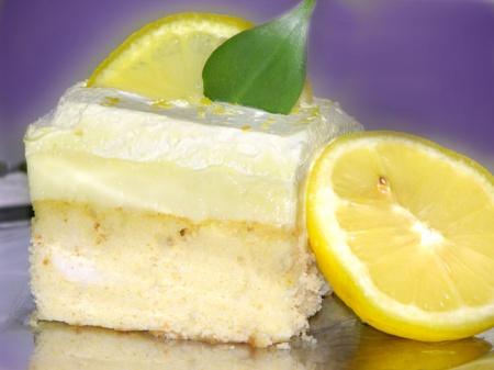 Рецепт торта с лимоном
