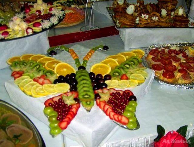 как красиво украсить стол на день рождения фото